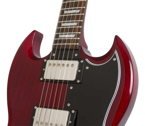 chitarra elettrica epiphone g cherry red