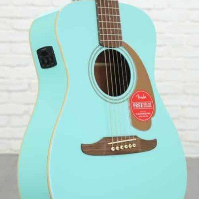 Fender Chitarra Acustica Malibu Player Aqua Splash