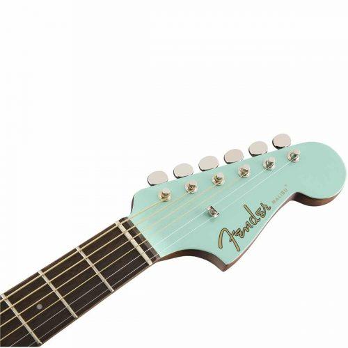 fender malibu player aqua splash mn chitarra acustica elettrificata