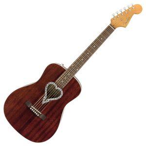 Fender Chitarra Acustica Alkaline Trio Malibu Natural