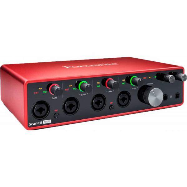 Focusrite Scarlett 8I6 3rd Gen. Scheda Audio