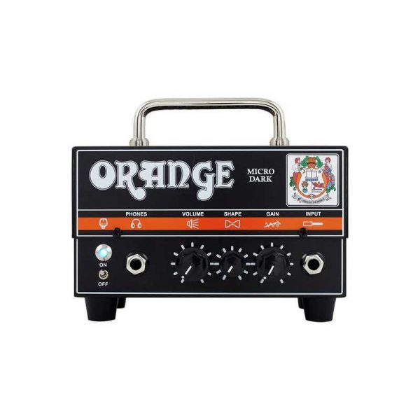 orange tete d ampli guitare micro dark