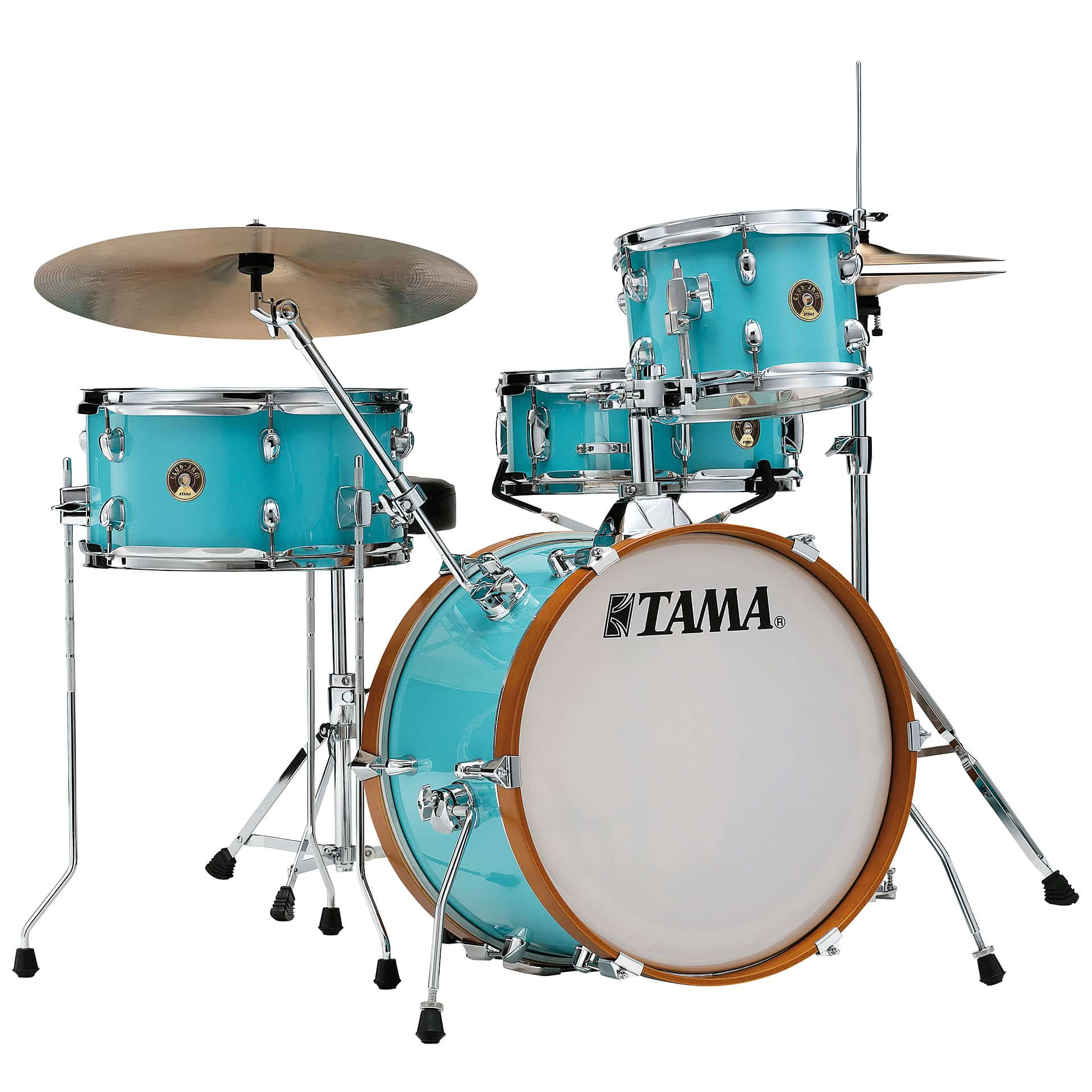 tama club jam aqua blue shellset