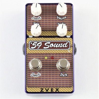 ZVEX 59 Sound Vertical Vexter Preamp Overdrive