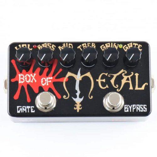 zvex box of metal hand painted