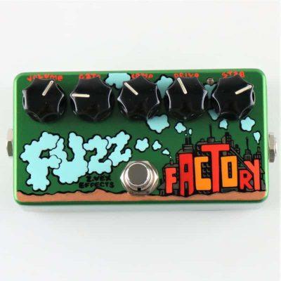 zvex fuzz factory hand painted