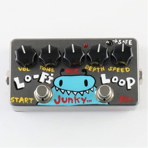 zvex lo fi loop junky hand painted