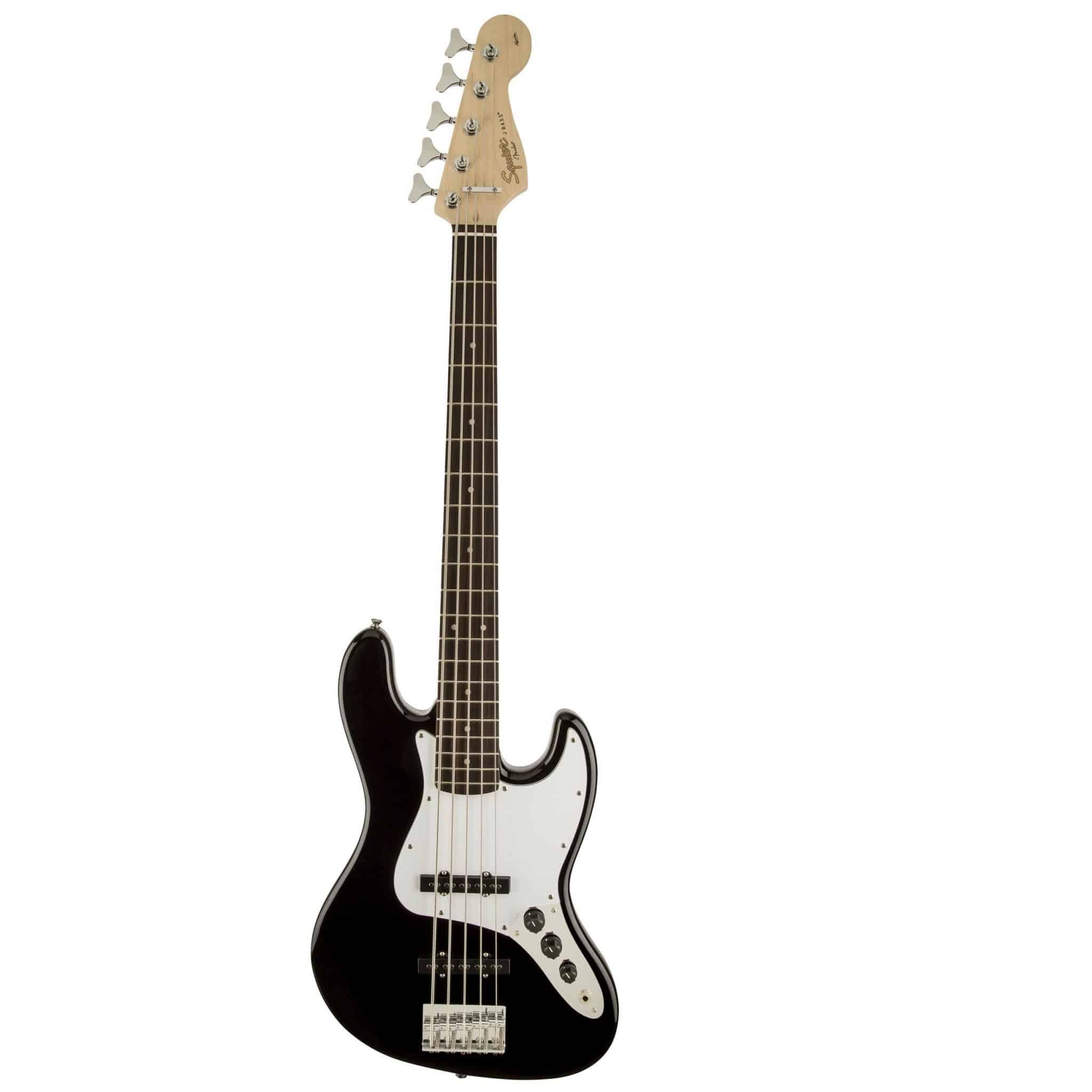 BASSO ELETTRICO SQUIER BY FENDER JAZZ BASS AFFINITY V BLACK Corde