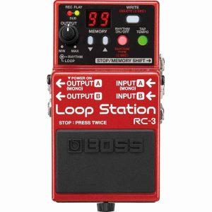 Boss Rc-3 Loop Station Pedale