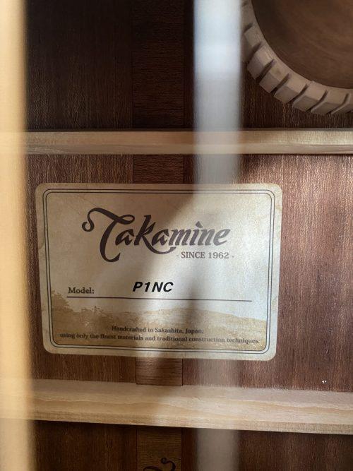 Takamine P1NC Natural