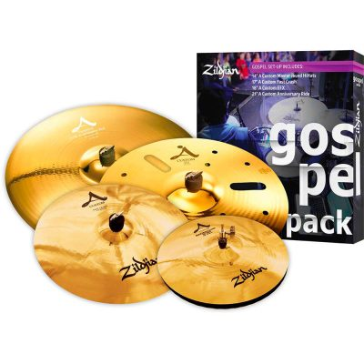 Zildjian Set piatti 5 A Custom Gospel