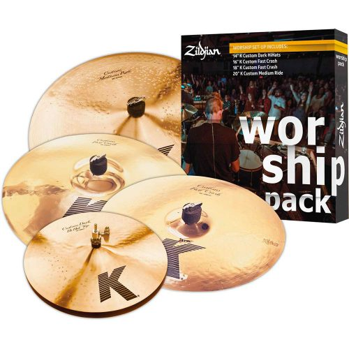 "Zildjian Set piatti 5 K Custom ""Worship"" (KC0801W)"