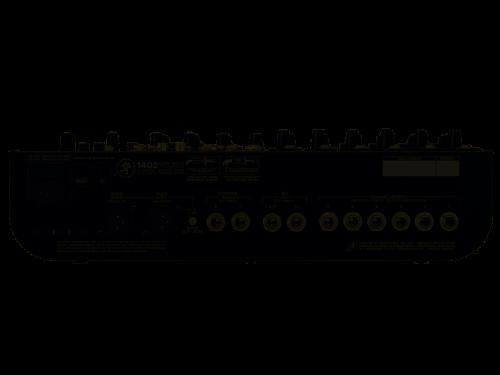 Mackie 1402VLZ4 Mixer 14 Canali