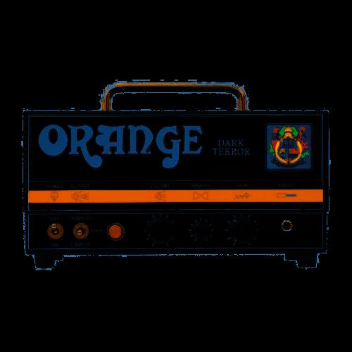 Orange Dark Terror Testata Per Chitarra