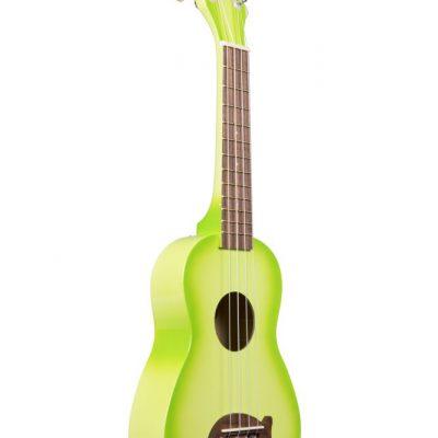 Kala MK-SD/GRNBURST - Ukulele soprano - Green Apple Burst - c/borsa