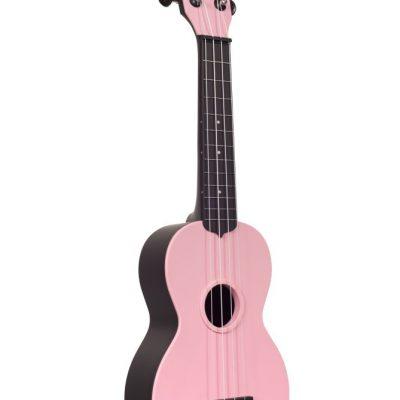 Kala KA-SWB-PK - Ukulele soprano Waterman - Soft Pink Matte - c/borsa