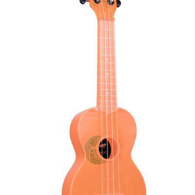 Kala KA-SWF-OR - Ukulele soprano Waterman - Fluorescent Orangesicle - c/borsa