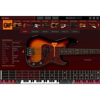 IK Multimedia Modo Bass - Strumento virtuale basso elettrico a modelli fisici