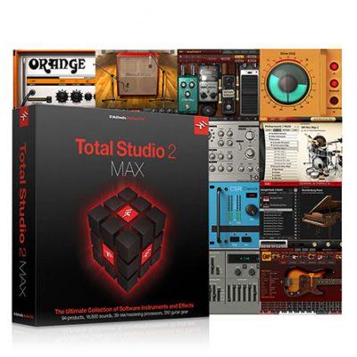 IK Multimedia Total Studio 2 MAX - bundle per MAC e PC (64bit)