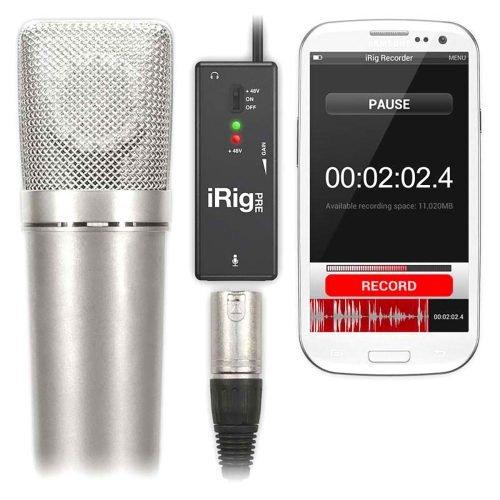 IK Multimedia iRig PRE Preamplificatore Microfonico