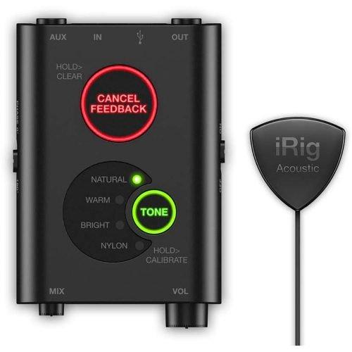 IK Multimedia iRig Acoustic Stage Sistema Microfonico per chitarra acustica