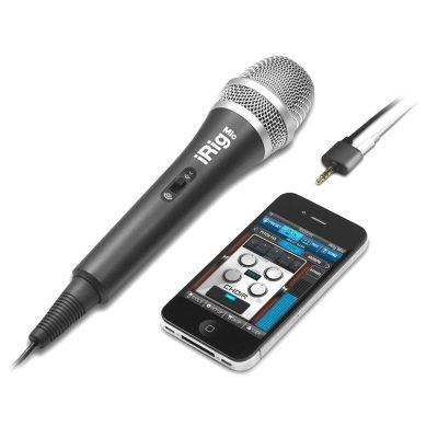 IK Multimedia iRig MIC - Microfono palmare per sistemi Android