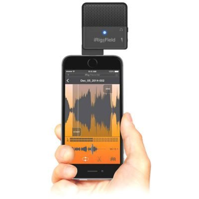 IK Multimedia iRig MIC Field Microfono