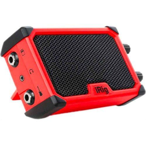 IK Multimedia iRig NANO Amp Rosso - Amplificatore portatile 3 Watt