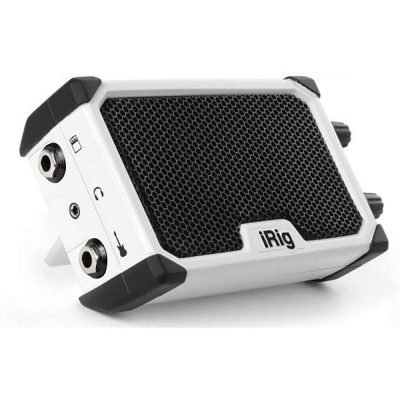 IK Multimedia iRig NANO Amp Bianco - Amplificatore portatile 3 Watt