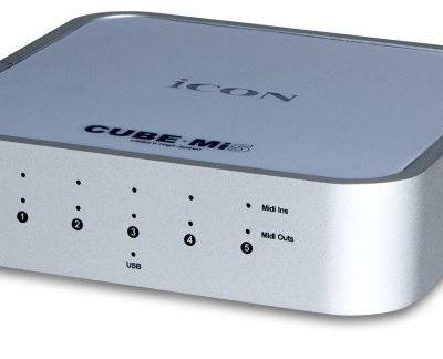 Icon CubeMi 5 - interfaccia MIDI - 5 In/Out