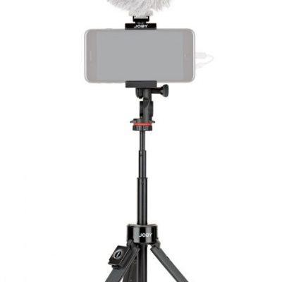 Joby TELEPOD GRIPTIGHT PRO NERO - Treppiede o impugnatura telescopica per smartphone con telecomando Bluetooth®