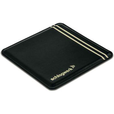 Schlagwerk SP30BLK - pad in pelle ''Comfort'' per Cajon - nero