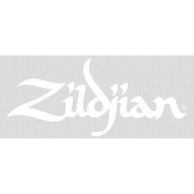 Zildjian Adesivo logo Zildjian 8'' - bianco