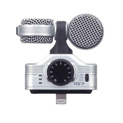Zoom iQ7 - microfono stereo mid/side per iPhone5/iPod touch/iPad mini