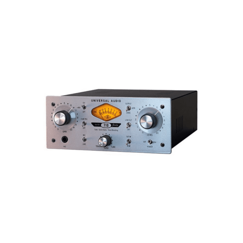 Universal Audio 710 Twin-Finity Preamp. Microfonico