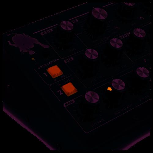 Moog MiniTaur Rev. 2.0 Synth Per Suoni di Basso