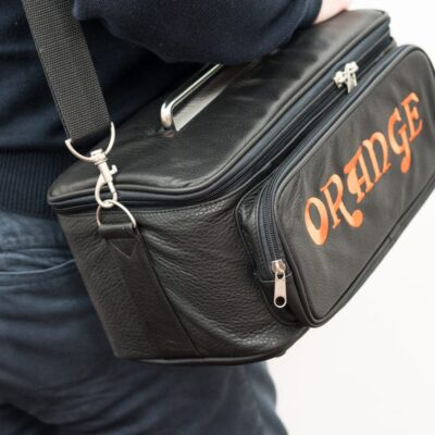Orange Borsa Terror Piel Custodia Per Terror