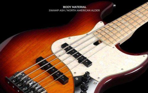 Marcus Miller V7 Swamp Ash-4 basso elettrico