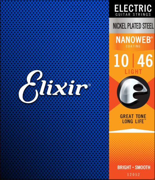 Elixir 10 46 Nanoweb Light Corde Per Chitarra Elettrica