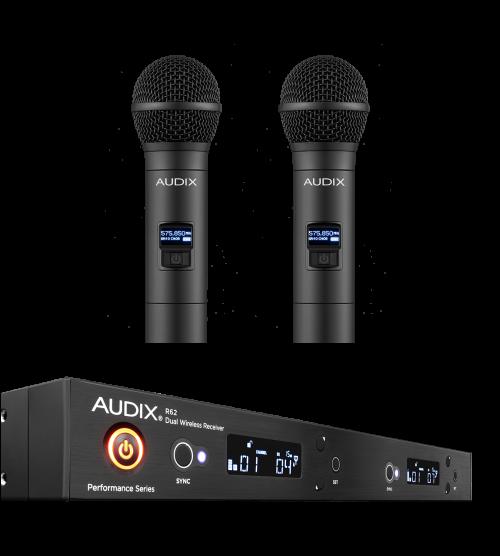 Audix AP62-OM2 Sistema Microfoni Wireless