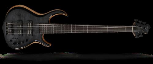 Marcus Miller M7 Swamp Ash-4 Fretless Trans Black