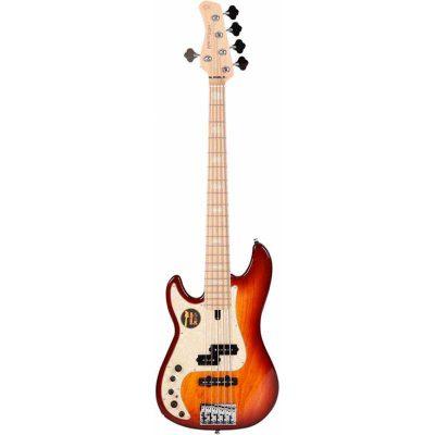 Marcus Miller P7 Lefthand Swamp Ash-5 Sunburst basso sinistro