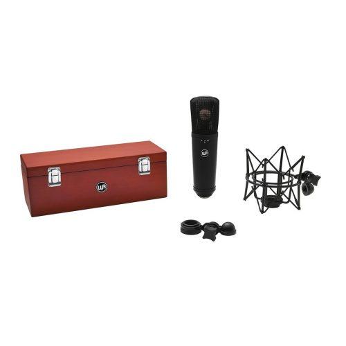 Warm Audio WA-87 R2 Black Microfono A Condensatore