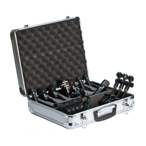 Audix Studio Elite 8 Kit 8 Microfoni Per Batteria