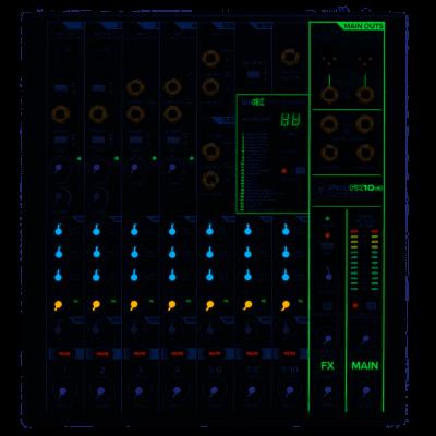 Mackie ProFx10V3 Mixer 10 Canali