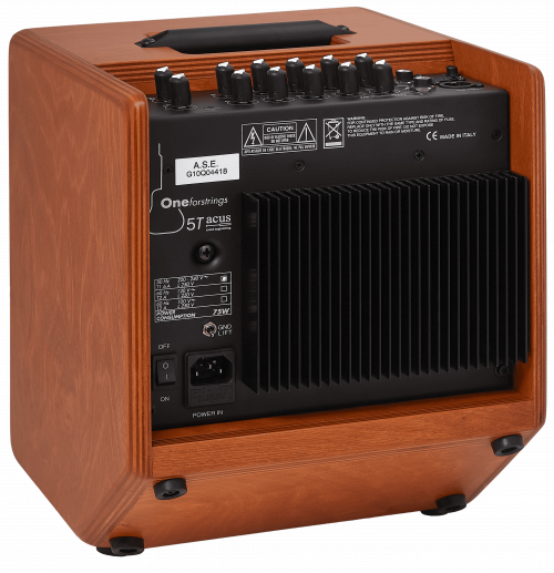 Acus One Forstrings 5T Cut Wood Amplificatore