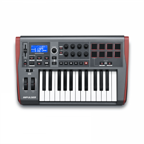 Novation Impulse 25 Tastiera Controller USB MIDI