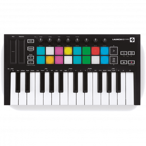 Novation Launchkey Mini MK3 Tastiera Controller