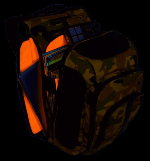 UDG Ultimate Digi Backpack Black Camo/Orange Inside