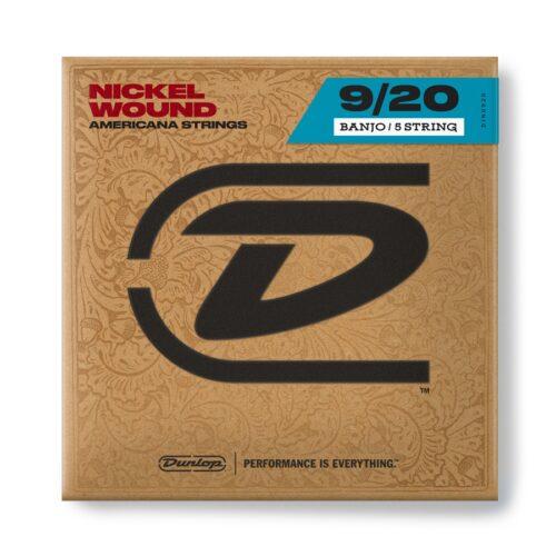 Dunlop DJN0920 Banjo Nickel Wound